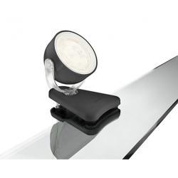 Aplique LED Philips Dyna Pinza Negro 1x3W  270Lm - Imagen 1