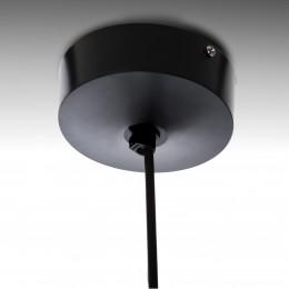 Lámpara LED Suspendida Bola Negro 12W 1100Lm 30.000H Lila - Imagen 2
