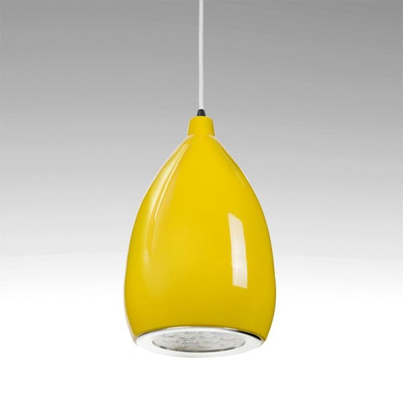 Lámpara LED Suspendida Pera Amarillo 12W 1100Lm 30.000H Rebecca - Imagen 1