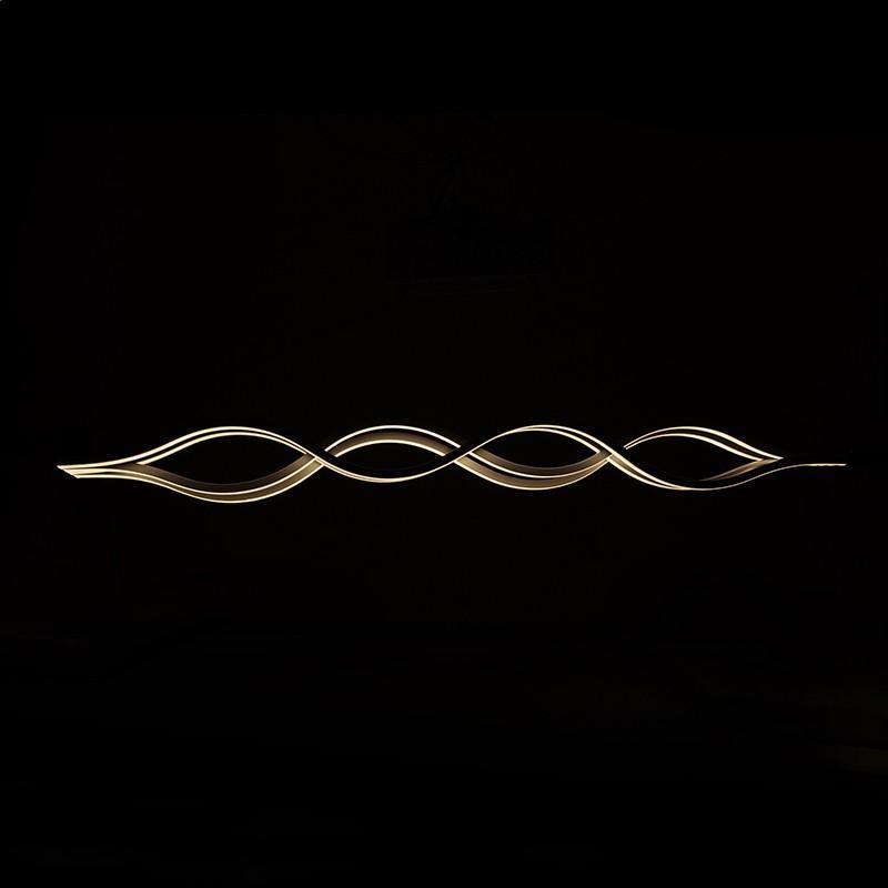 Lámpara Suspendida LED Wave 4 X 24W 7680Lm 30.000H Adriana - Imagen 1