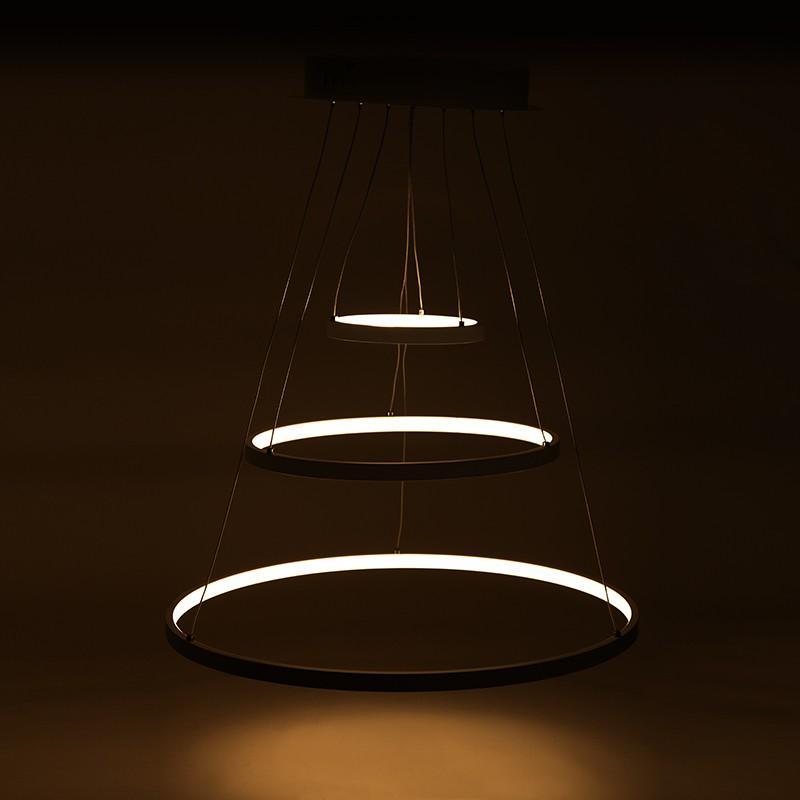 Lámpara Suspendida LED Circle 96W 8000Lm 30.000H Michelle - Imagen 1