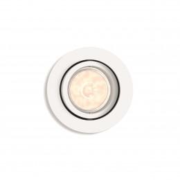 Foco Empotrable Philips Enneper Circular Blanco GU10 - Imagen 2