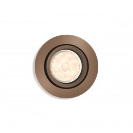 Foco Empotrable Philips Donegal Circular Cobre GU10 - Imagen 2