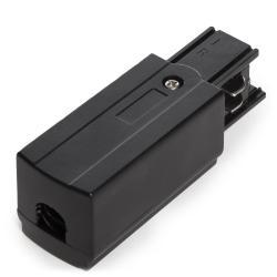Conector Derecho  Trifásico  Negro - Imagen 1