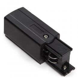 Conector Derecho  Trifásico  Negro - Imagen 2