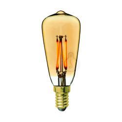 [AM-DL342] Bombilla LED E14 - Ámbar - Blanco Cálido - Dimable