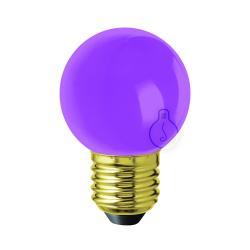 [AM-LB916] Bombilla LED E27 - Plástico - Blanco Cálido - Imagen 1