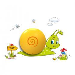 """Aplique """"Snail"""" Pilas 0,6W (3xAAA )  Plástico [MLP-113] - Imagen 1"""