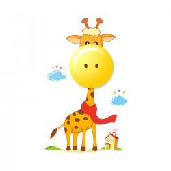 """Aplique """"Giraffe"""" Pilas 0,6W (3xAAA )  Plástico [MLP-114] - Imagen 1"""