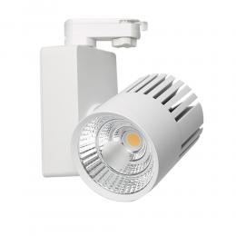 Foco LED 40W GRAZ Blanco BRIDGELUX Chip para Carril Monofásico 100º  CRI +90 - Imagen 2