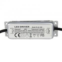 Driver para luminarias LED de 40W 1200mA - Imagen 1