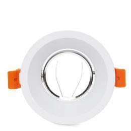 Aro Foco Downlight Circular GU10 Ø99Mm - Blanco - Imagen 2