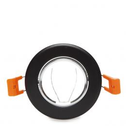 Aro Foco Downlight Circular GU10 Ø84Mm - Negro - Imagen 2