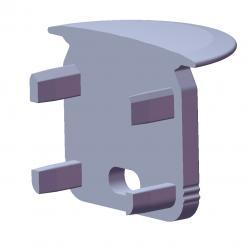 Tapón Final Perfíl Tipo ECO P05 - Imagen 1