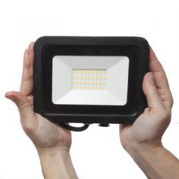 Foco Proyector LED IP65 30W SLIM [LL-17-1031-01-W] - Imagen 2
