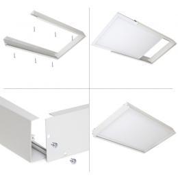 Panel LED Slim 60x30cm 24W 2100lm + Kit de Superficie - Imagen 2