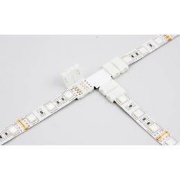 Conector de presión para tira LED monocromática en T - Imagen 2
