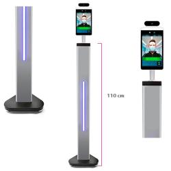 Módulo de control de Acceso con Reconocimiento facial y Medición de Temperatura Goodview para suelo - Imagen 1