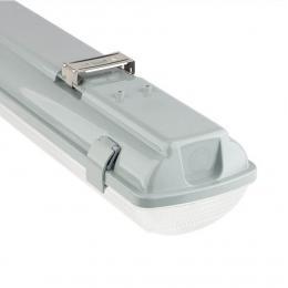 Pantalla estanca para dos tubos de LED IP65 150cm - Imagen 2