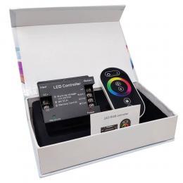 Controladora RGB para tiras LED DC 12-24V 6A*CH - Imagen 2