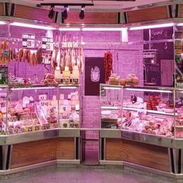Tubo LED 12W 90Cm Rosa Especial Carnicerías - Imagen 2