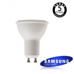 Dicroica LED SMD 6W SAMSUNG 45º GU10 5 Años de Garantía
