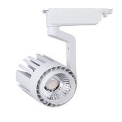 Foco LED 30W NORA Blanco Carril Monofásico