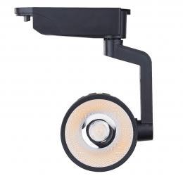 Foco LED 30W ROMA Negro Carril Monofásico - Imagen 2