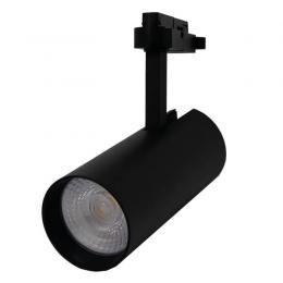 Foco LED 30W MAYA Negro Carril Monofásico DOB Driverless - Imagen 2