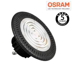 Campana industrial LED UFO 200W OSRAM chip 3030-2D 160lm/w IP65