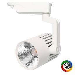 Foco LED 40W PISA Blanco Carril Monofásico - Imagen 2