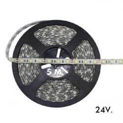Tira LED Flexible Exterior 14.4W*5m IP65 24V