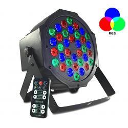 Foco LED 36W MONTANA 36 con mando + DMX