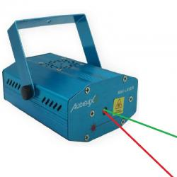 Mini Laser 2 Colores Verde y Rojo
