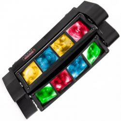 Cabeza Móvil Doble LED 24W KENTUKY Barra DMX - Imagen 1