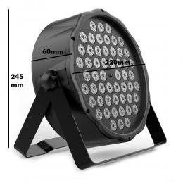Foco LED PAR 54W AUSTIN RGBW DMX - Imagen 2