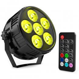 Foco Mini PAR LED 36W MONTANA RGBW 4 en 1 + Mando - Imagen 2