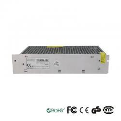 Fuente Alimentación 12V 200W 1,7A Aluminio IP20
