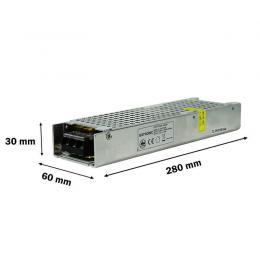 Fuente Alimentación GXTRONIC 24V 200W 8.33A - Aluminio IP20 - Imagen 2
