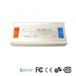 Fuente Alimentación 12V 200W 5A - Aluminio IP67