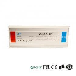 Fuente Alimentación 12V 300W - Aluminio IP67