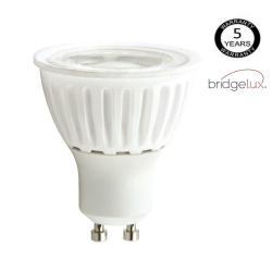 Dicroica LED COB 9W 24º Cerámica GU10 5 Años Garantia