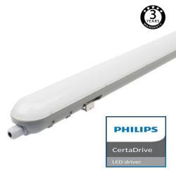Regleta Estanca LED integrado 40W PHILIPS CERTA DRIVER 120cm