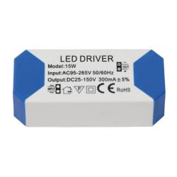 Driver para luminarias LED de 15W 300mA
