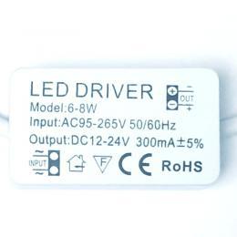 Driver indicado para luminarias LED de 6W a 8W 300mA - Imagen 2