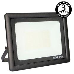 Foco Proyector Exterior Negro LED 100W ACTION IP65 - Imagen 1