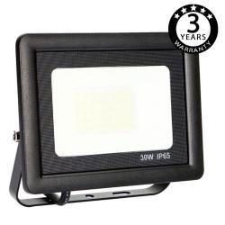 Foco Proyector Exterior Negro LED 30W ACTION IP65 - Imagen 1