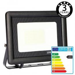 Foco Proyector Exterior Negro LED 30W ACTION IP65 - Imagen 2