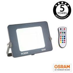 Foco Proyector RGB+W LED 50W AVANCE OSRAM Chip - Imagen 1