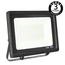 Foco Proyector Exterior Negro LED 50W ACTION IP65 - Imagen 1